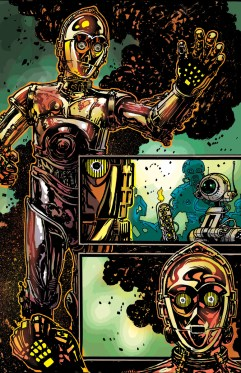 Star Wars Special: C-3PO #1 Preview Pages