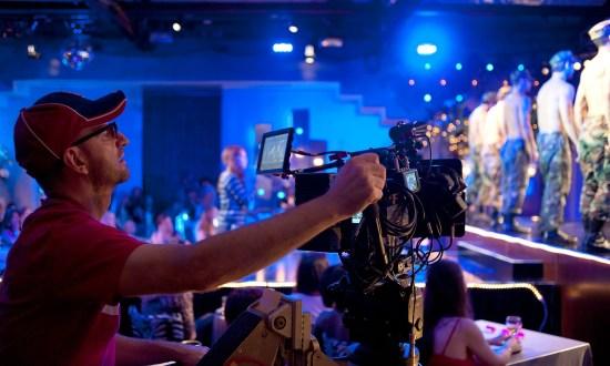 Steven Soderbergh on Magic Mike set
