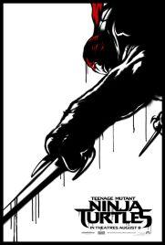 Teenage Mutant Ninja Turtle Street Poster Raphael