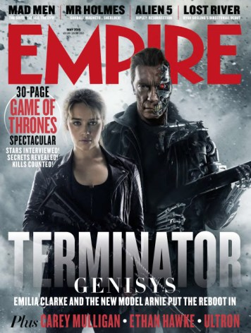 Terminator Genisys Empire - cover