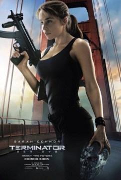 Terminator Genisys Sarah Connor Character Poster
