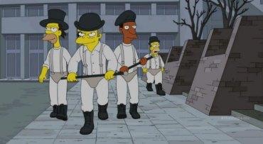 The Simpsons Clockwork Orange 3