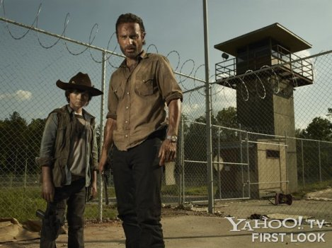 The Walking Dead - Rick and Carl