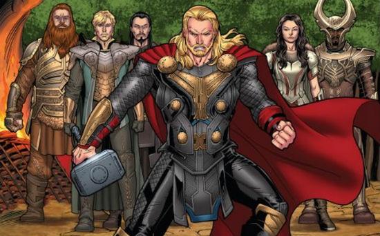 Thor 2 Kids Book header