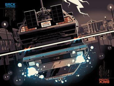 Tom Whalen Back to the Future A