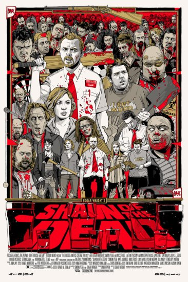Tyler Stout - Shaun of the Dead