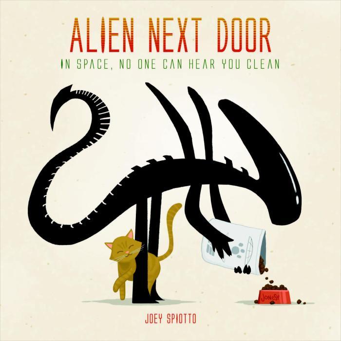 Alien Next Door book