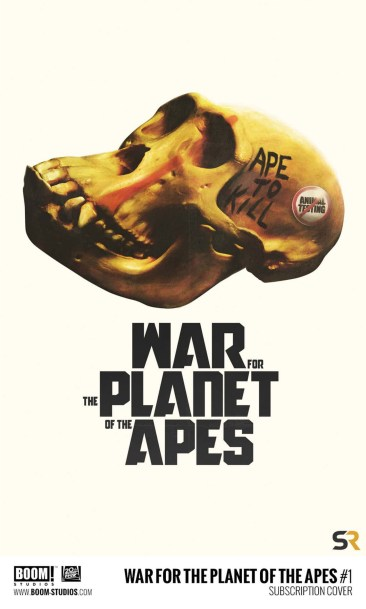 WAR FOR THE PLANET OF THE APES JAY SHAW