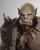 Warcraft comic con posters Orgrim