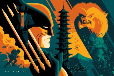 Wolverine by Tom Whalen (variant)
