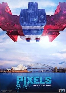 Pixels Posters 1980s Video Game Characters Invade Earth