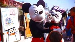 Vintage Disneyland character costumes