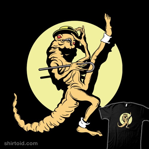 Dancing and Singing Chestburster Alien t-shirt