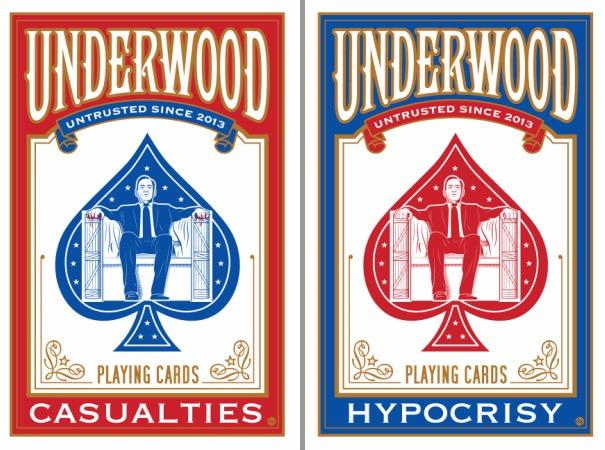 "Dave Perillo's ""Hypocrisy + Casualties"" Set of Cards prints"