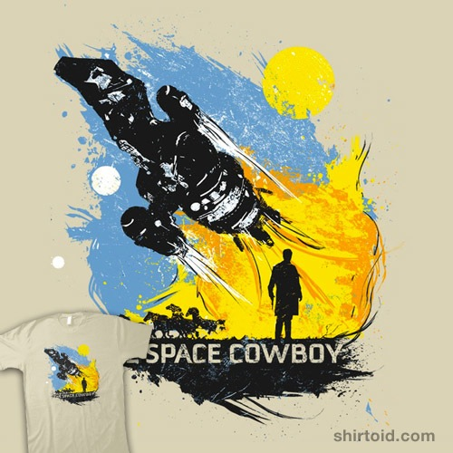 The Space Cowboy t-shirt