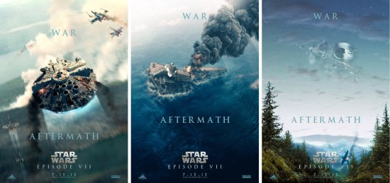 Star Wars Episode 7 fan posters