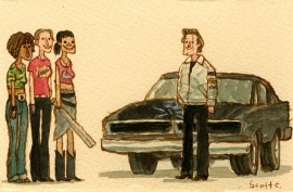 Scott C's Great Showdown tribute to Grindhouse