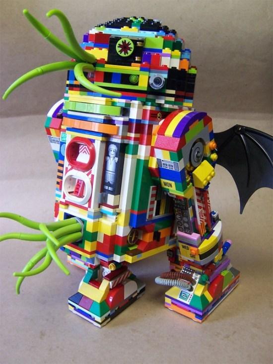 LEGO Rainbow R2-Cthulhu