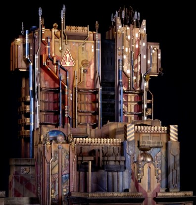 Guardians of the Galaxy - Mission: Break-out! model - The collector's fortress