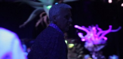 James Cameron Visits Avatar Land Bioluminescent Forrest
