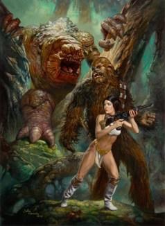 """Forest Rancor"" by Julie Bell & Boris Vallejo"