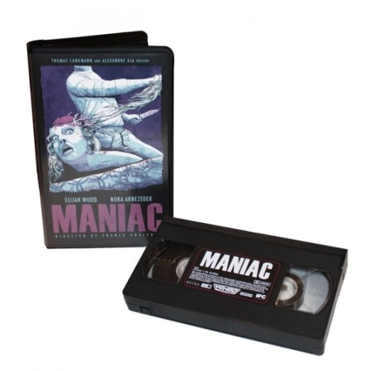 Mondo is Releasing the Maniac Remake on VHS
