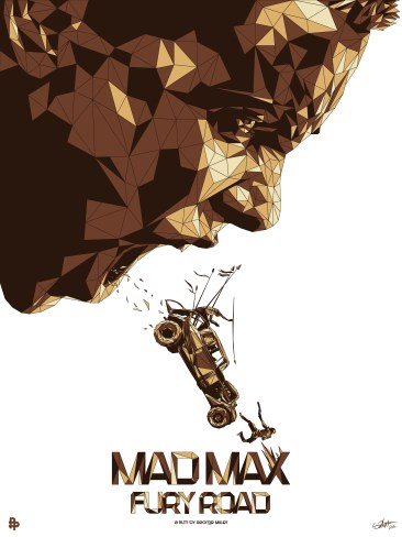 SIMON DELART Mad Max Fury Road art posters
