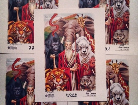 Limited Edition Noah Art Posters