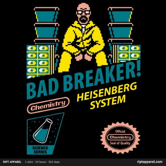 "Nintendo/Breaking Bad-inspired design ""Bad Breaker"""