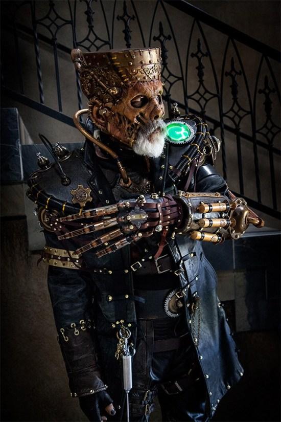 Rick Bakers Steampunk Frankenstein-Monster