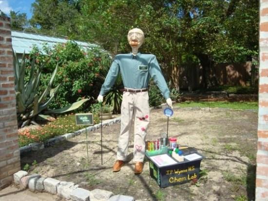 Walter White scarecrow