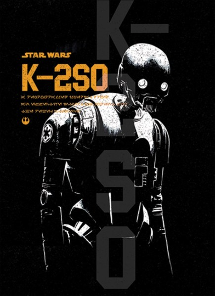 Rogue One artwork - k-2so
