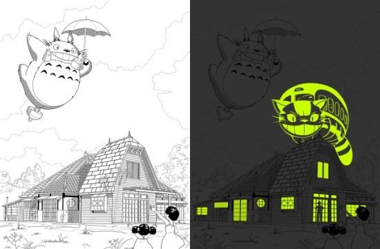 """Andy Hau's All-New Totoro Print: """"Semper Fortis Semper Fidelis"""""""
