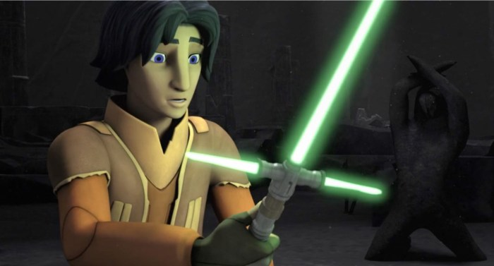 Star Wars Rebels cross guard lightsaber