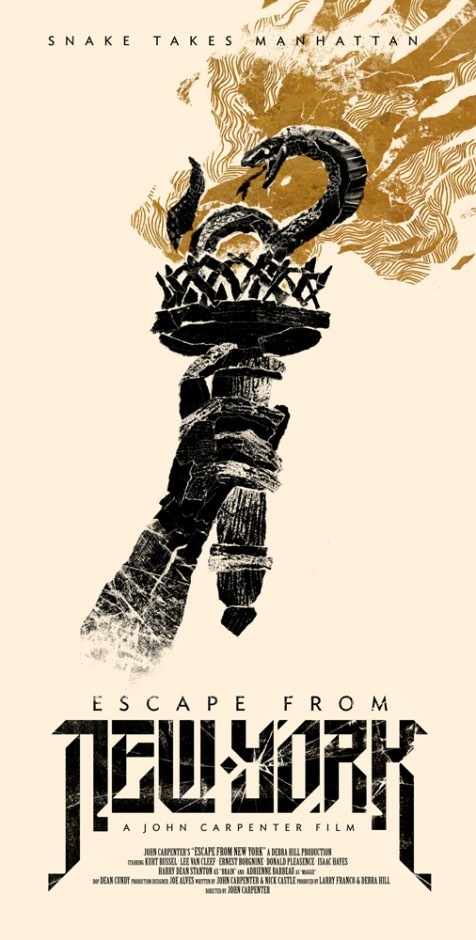 Benny Hennessy's Escape from New York poster