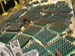 Middle Earth Recreated in LEGO