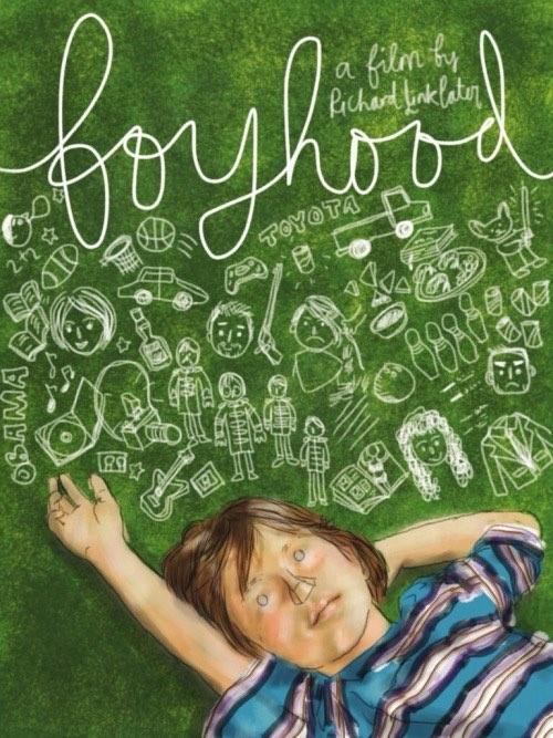 Boyhood poster by Marinaesque