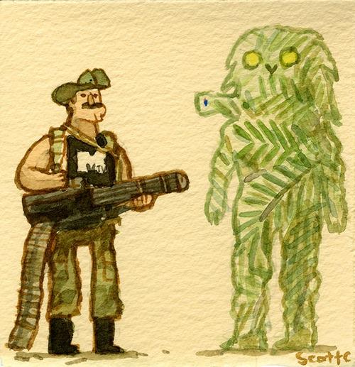 Scott C's Great Showdown tribute to Predator
