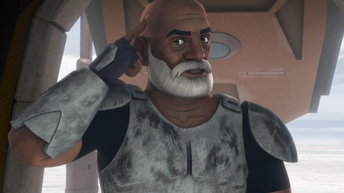 captain Rex in Return of the Jedi