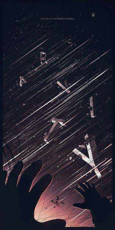 Gravity poster by Jason Heatherly