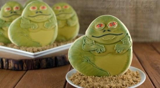 Jabba The Hutt cookies