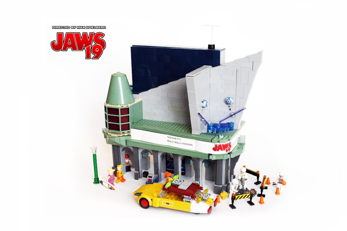 Cool Stuff Back To The Future Lego Hill Valley 2015 1955