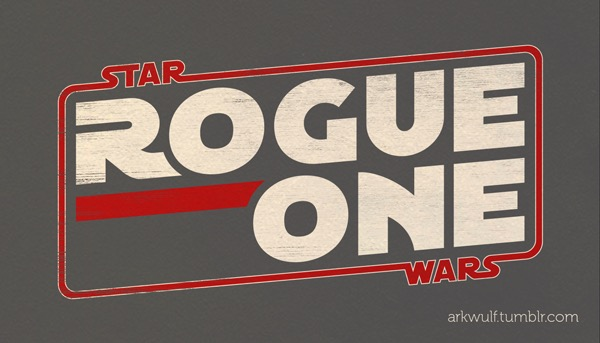 Star Wars Rogue One logo by Michael Cohen