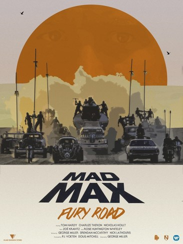 MATT NEEDLE Mad Max Fury Road art posters