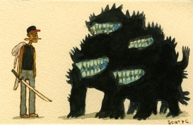 Scott C's Great Showdown tribute to Attack The Block