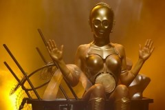Star Wars C-3PO burlesque