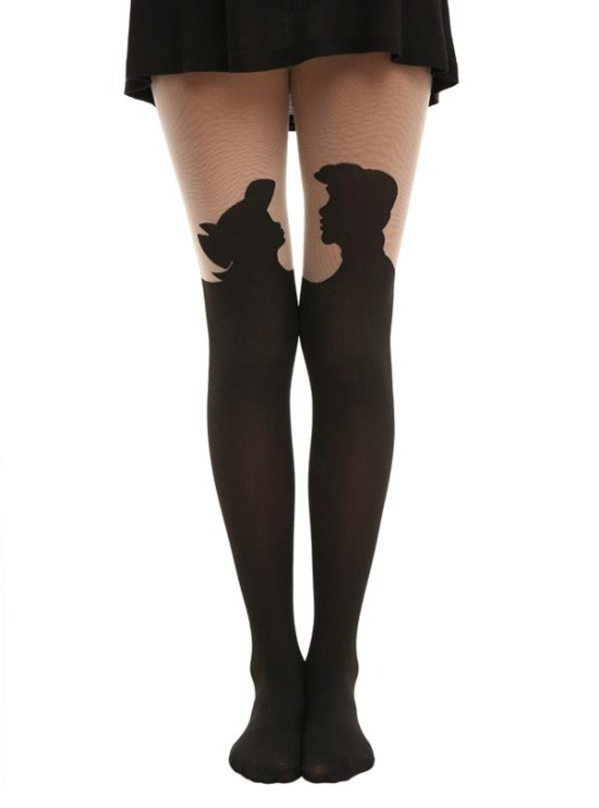 """The Little Mermaid"" Silhouette Tights"