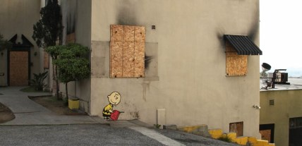 Banksy in Hollywood