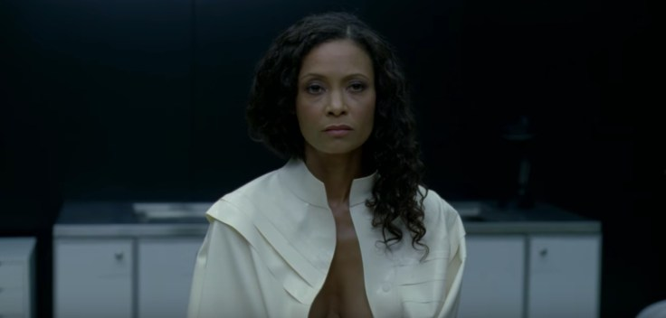 Thandie Newton's character Maeve Millay in Westworld