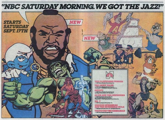The Best Saturday Morning Cartoons